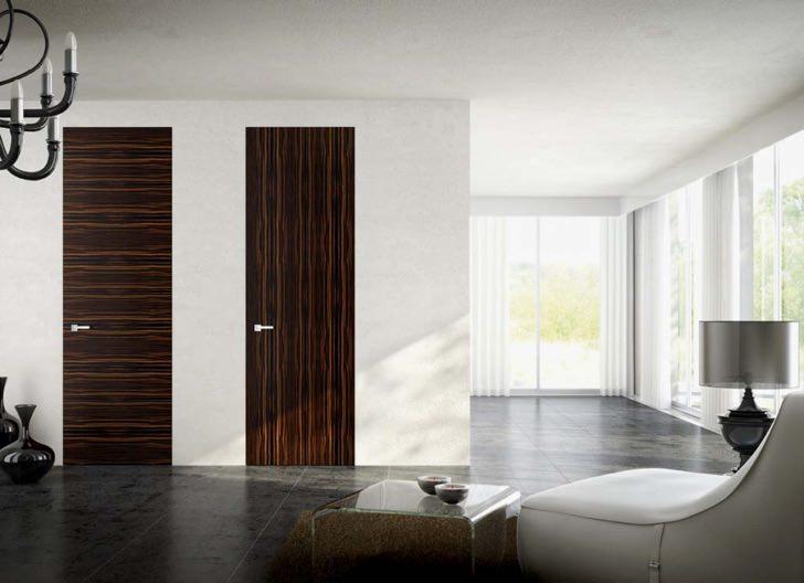 Скрытая дверь - прекрасная идея эксклюзивного дизайна комнаты.