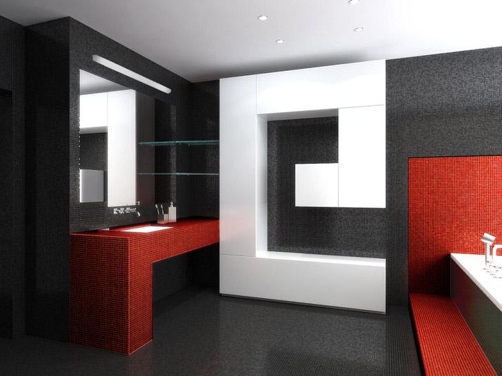 Лаконичные линии интерьера и традиционные цвета стиля. Необходимое условие современного хай тек-современные материалы и безукаризненное исполнение.