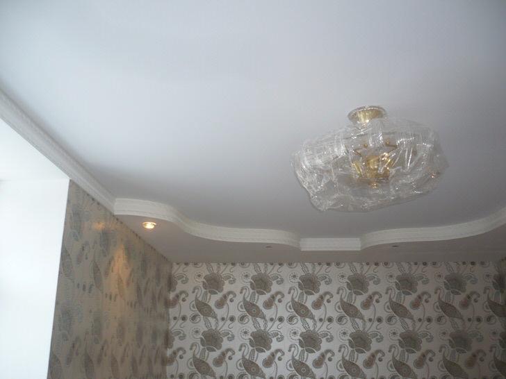 Прелесть натяжных тканевых потолков в безупречном качестве.