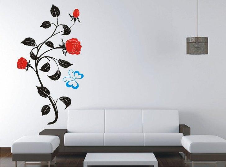 Виниловые наклейки-элемент декора для улучшения настроения.