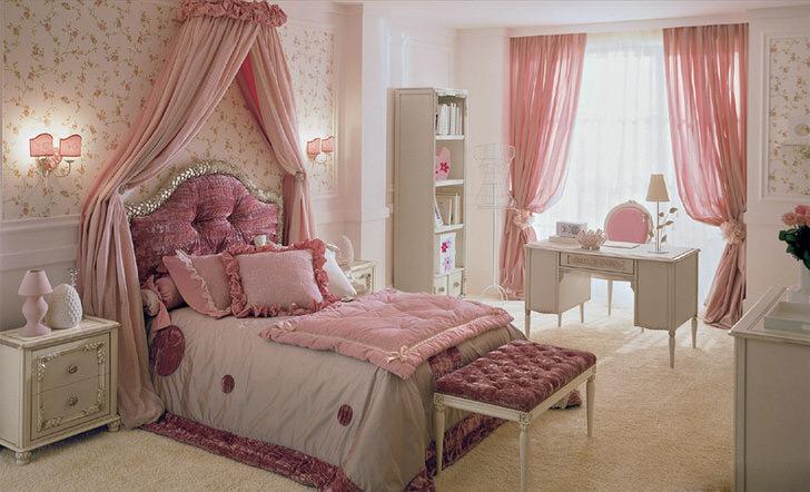 Детская комната для девочки в стиле прованс-кантри-барби.