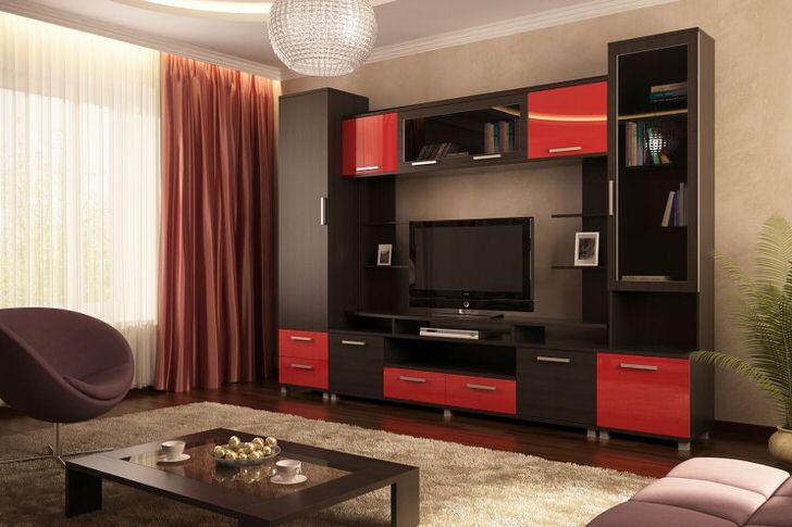 Модульная мебель для гостиной.