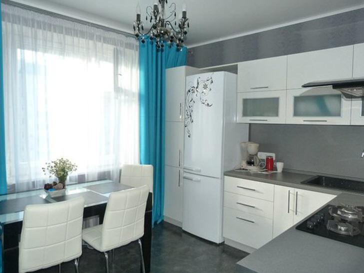 Кухня прямоугольная 10 кв.м дизайн
