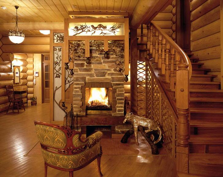 Мебель для гостиной в этническом стиле.