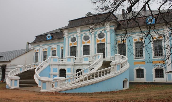 Старинный дом в стиле барокко.