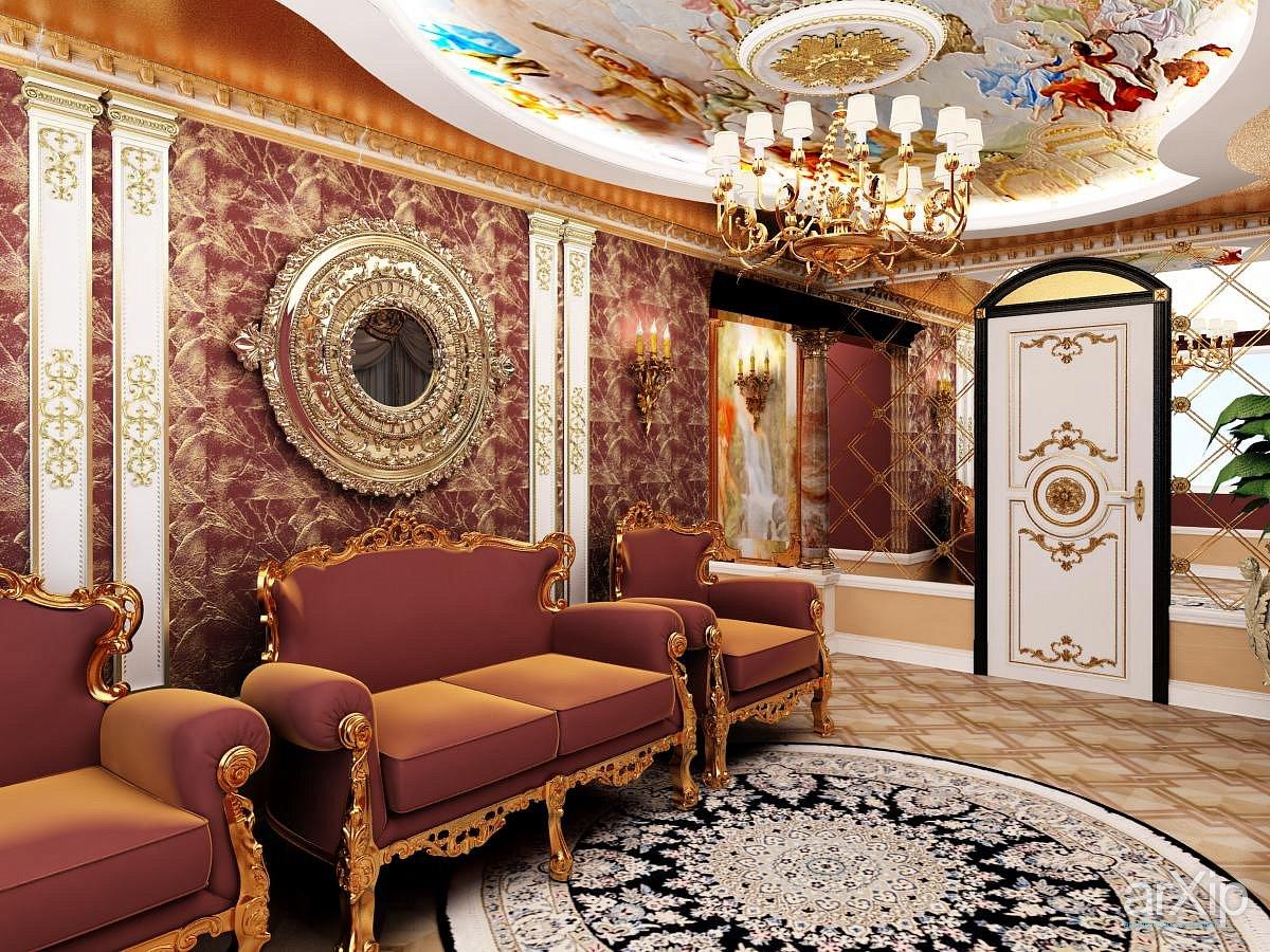 Роскошный барокко в городской квартире зажиточного итальянца.