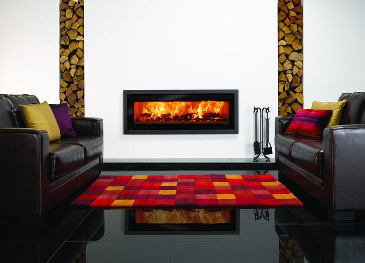 Газовый камин как одно целое проекта интерьера дома. Уют и тепло.