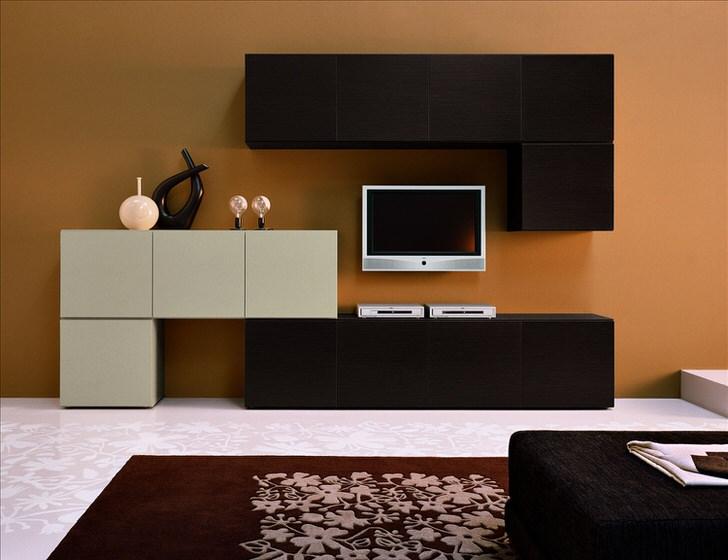 """""""Кубик рубик"""" для гостиной в стиле минимализм. Модульные секции находка для современных стилей."""