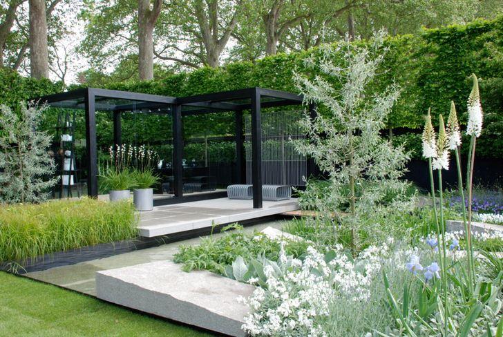 Ландшафтный дизайн минимализм