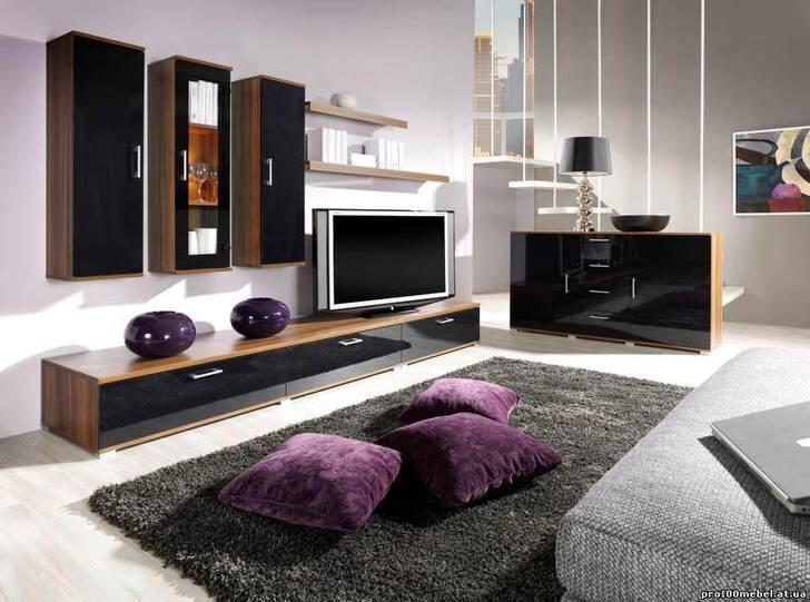 Элегантная просторная гостиная в доме