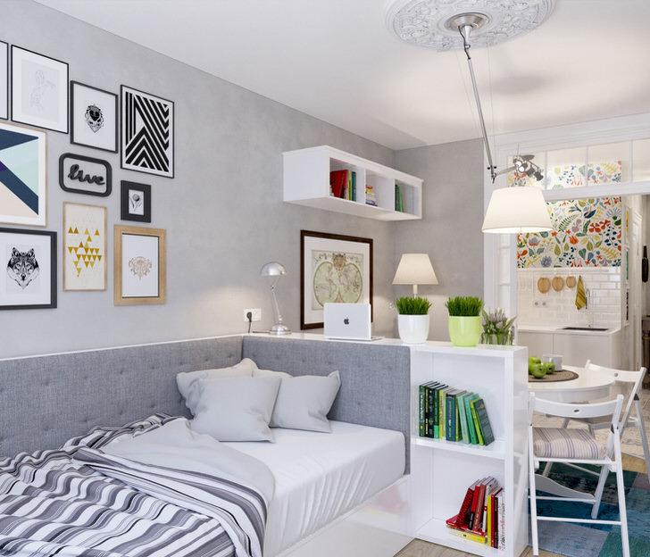 Угадайте в каком стиле выполнен дизайн комнаты. Я за скандинавский.
