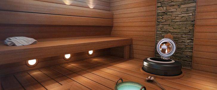 Дизайнерский проект бани