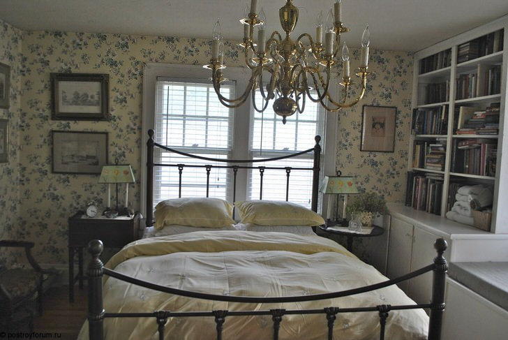 Спальня в Английском стиле-бюджетный вариант.
