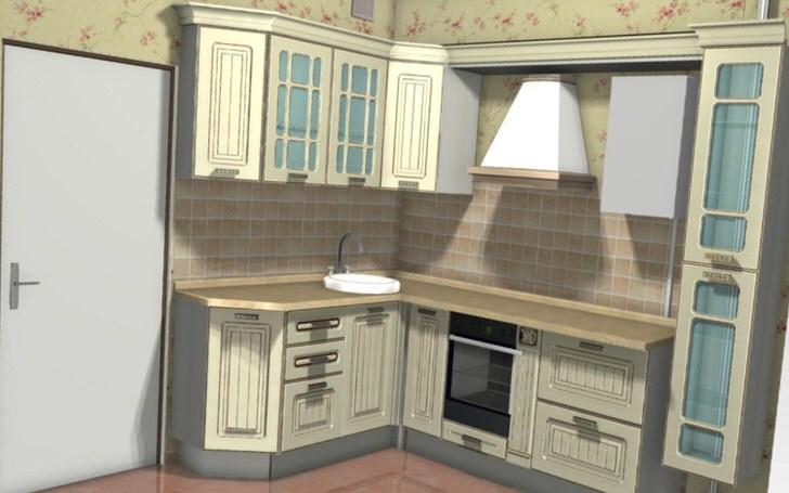 Размещение газовой колонки на кухне.