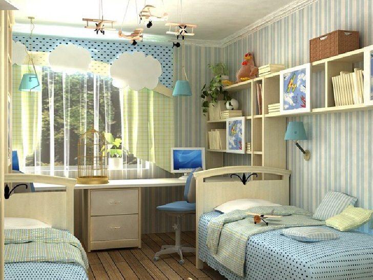 Комната в стиле хай-тек для мальчика в загородном доме на юге Франции.