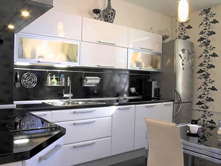 Дизайн кухни в хрущёвке с газовой колонкой