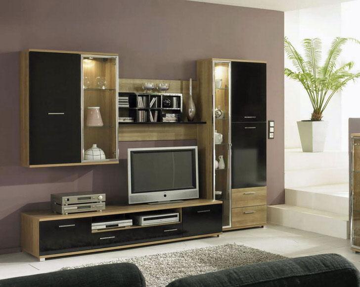 Золотая середина пропорций размеров модульной мебели.