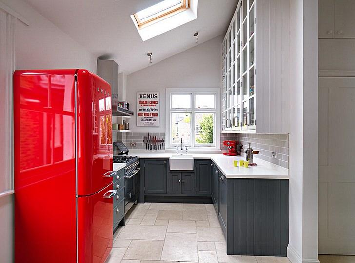 Стиль кухни напоминающий чердачный или LOVT.