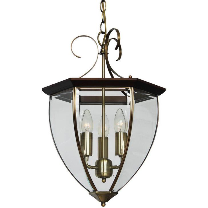 Светильник в стиле кантри для оформления дачи, загородного дома или охотничьего домика.