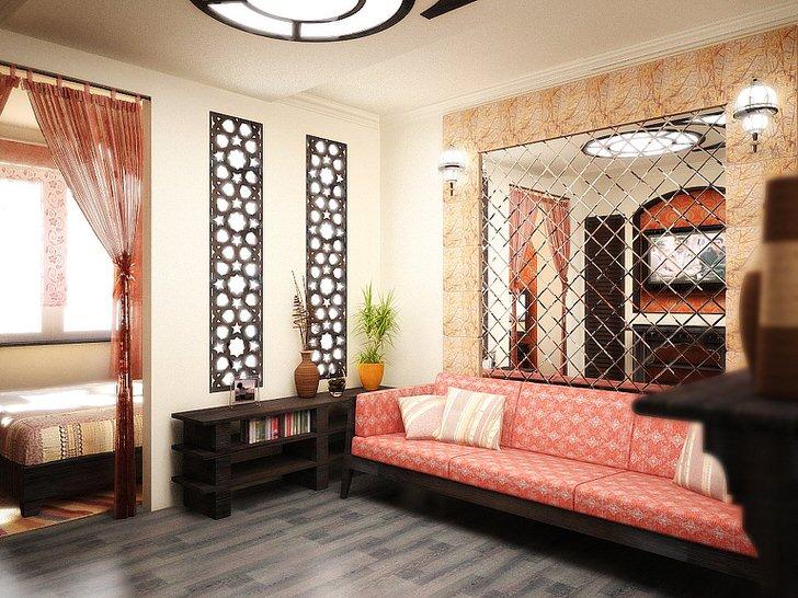 Современный дом в марокканском стиле.