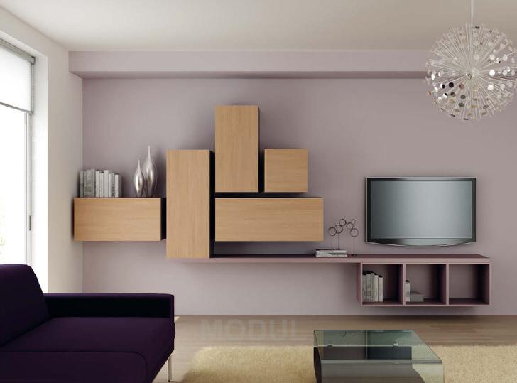 Гостевая комната в стиле модерн с правильно подобранной мебелью.