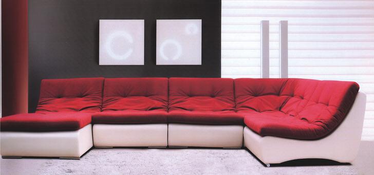 Модульные диваны в стиле хай тек. Неограниченные возможности по комплектации и цветовой палитре.