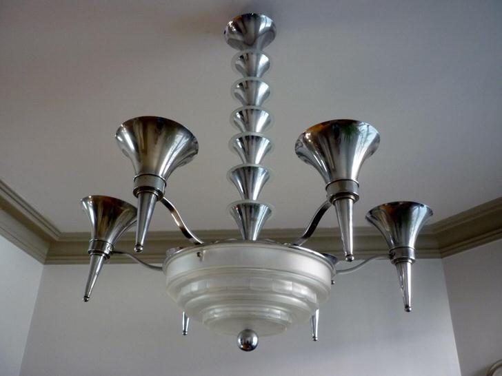 Богемные люстры в стиле арт-деко