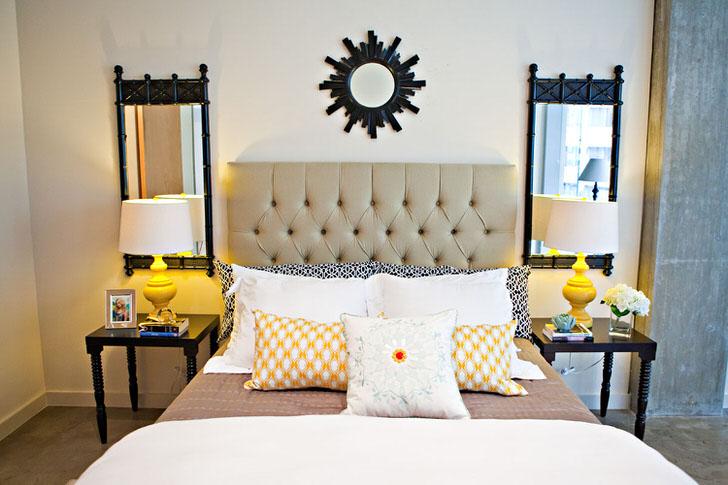 Стиль эклектика с гостевой спальне в одном из домов Подмосковья.