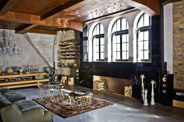 Гостевая комната в стиле лофт - идеальное решение для человека свободолюбивого и творческого.
