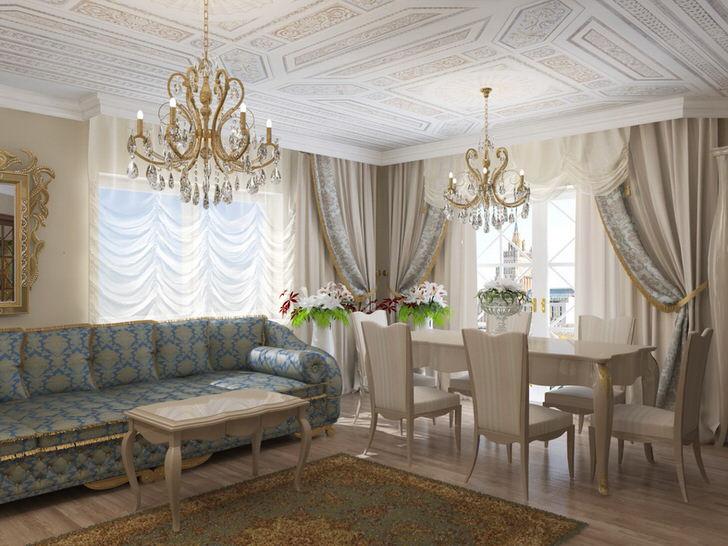 Гостиная в стиле модерн подчеркнет изысканный вкус обладателя жилища.