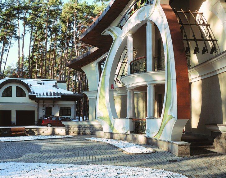 Правильный пример дизайнерского проекта для современного дома .