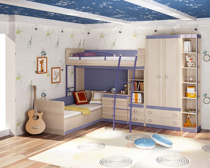 Креативная комната для ребенка