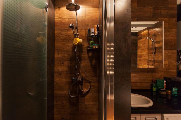 Ванная в лофт стиле - функционально организованное, уютное пространство.