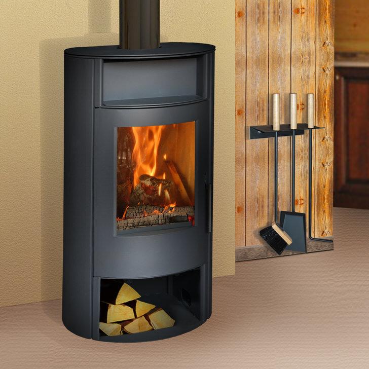 Дровяные камины каминные печи строительные решения электрокамин - печка pluton real-flame