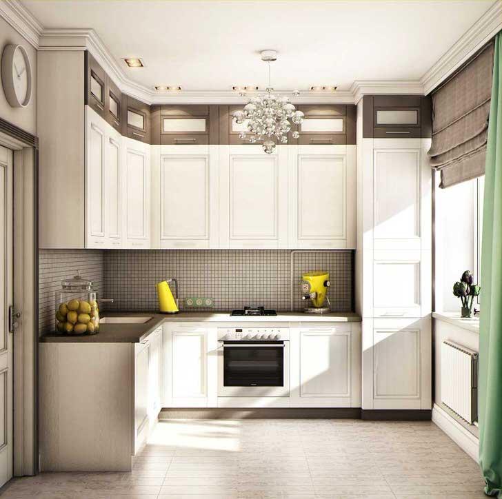 Дизайн интерьера кухня 9 метров