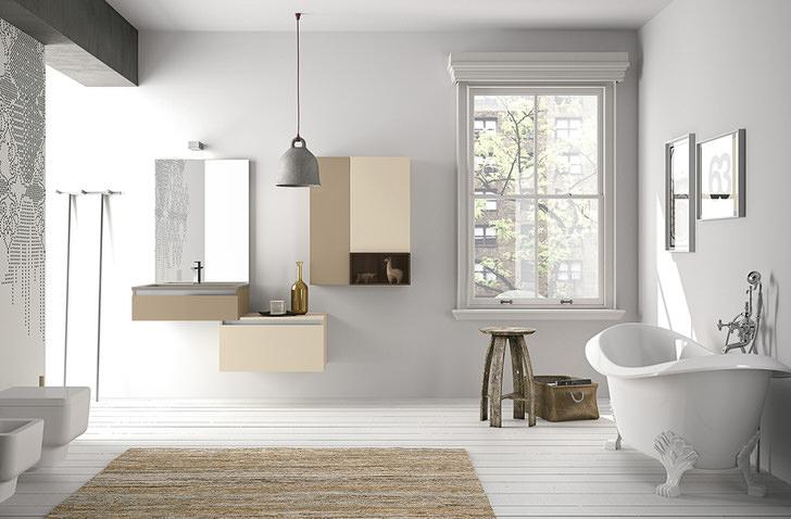 Ванная в скандинавском стиле - лаконичный уют и функциональность.