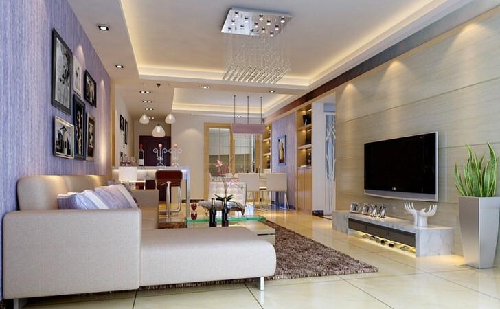 Комната для гостей в стиле модерн.