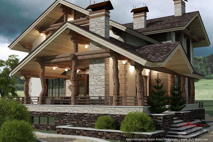 Дома в стиле фахверк отличаются собственным шиком.
