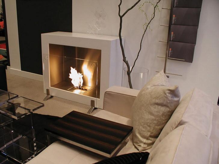 Элегантный дизайн электрического камина