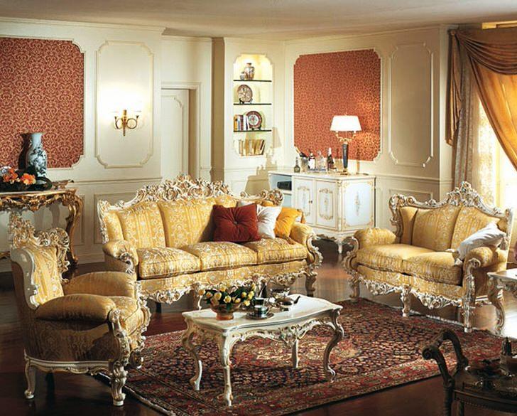 Стиль барокко примечателен использованием ярких контрастных тонов.
