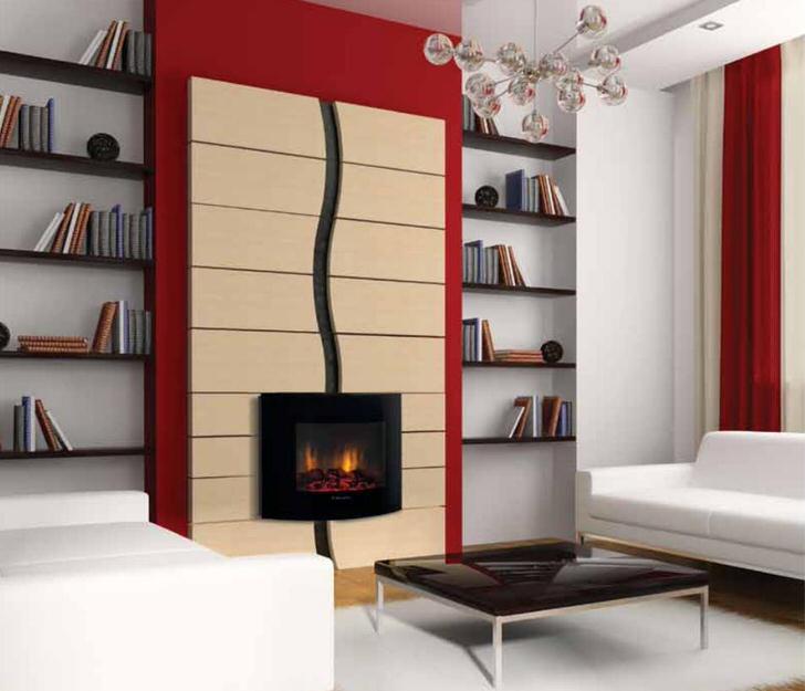 Благородный красный и черный - классическое сочетание для для любого интерьера.