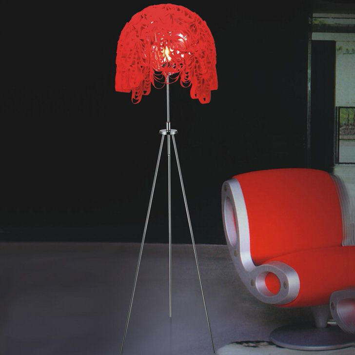 Интересный абажур светильника