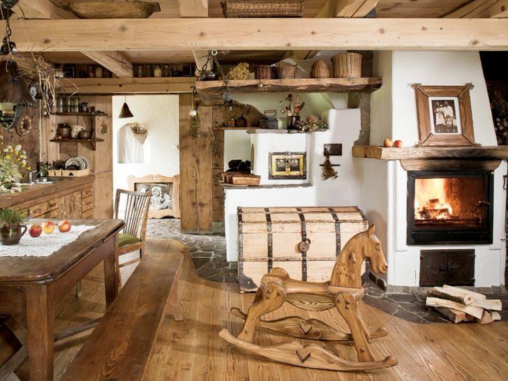 Дизайн деревенского дома внутри своими руками фото фото 16
