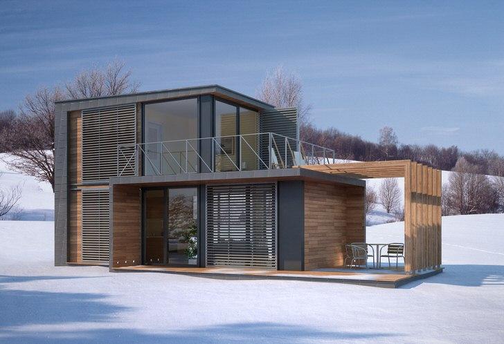 Модульные дома современности - отличный вариант для создания собственного жилья.