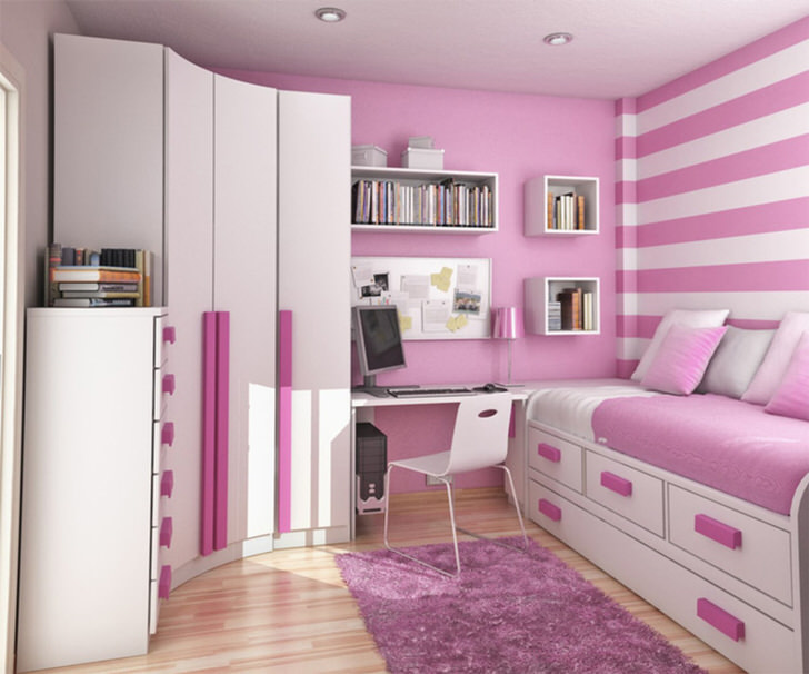 Стильный, лаконичный дизайн комнаты
