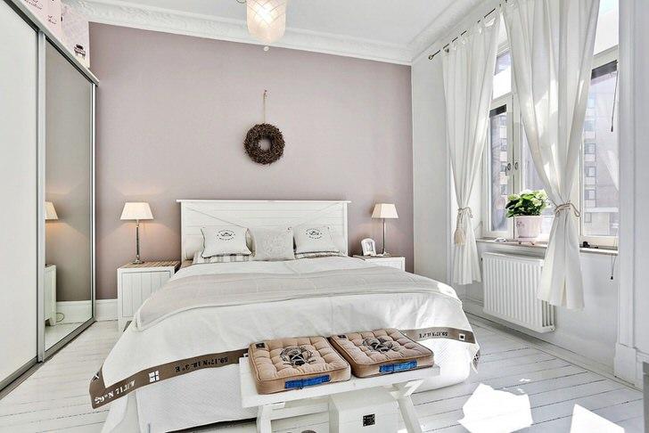 Современный и модный дизайн спальни в скандинавском стиле помимо привлекательных внешних данных наделен особой функциональностью и практичностью.
