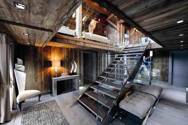Деревенский, простой, уютный стиль идеален для оформления загородных домов.