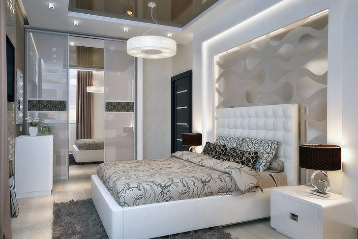 спальни фото модерн