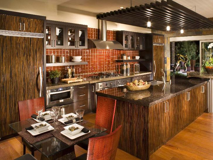 for Modelo de cocina americana rustica