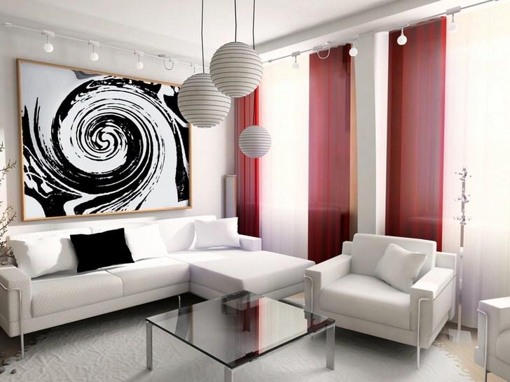 Для стиля хай тек идеально подходят диваны с элементами из хромированного металла.